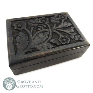 Verbena Dark Wood Box