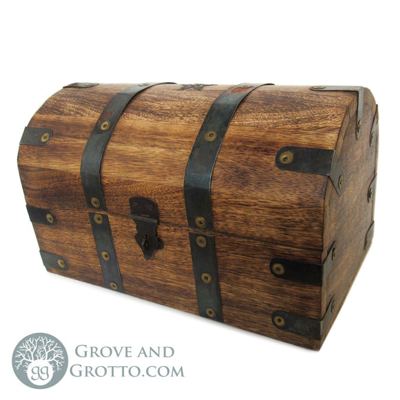 Old World Wooden Treasure Chest