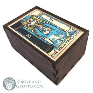 The High Priestess Tarot Box - Grove and Grotto