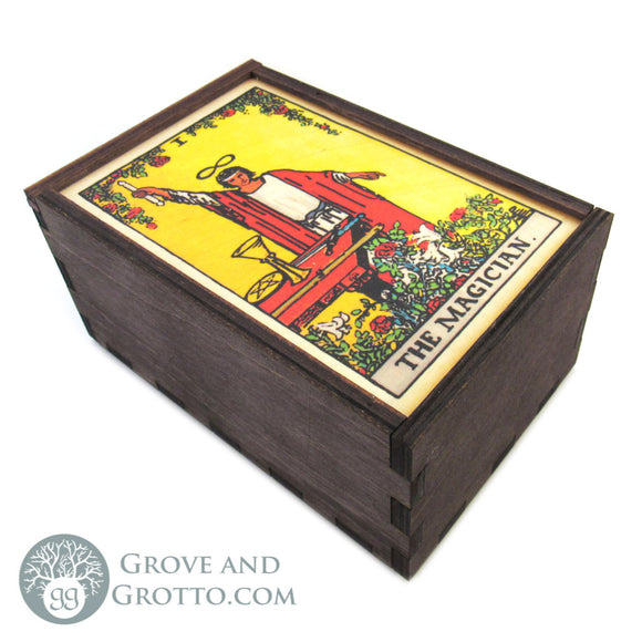 The Magician Tarot Box - Grove and Grotto