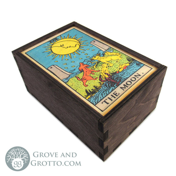 The Moon Tarot Box - Grove and Grotto