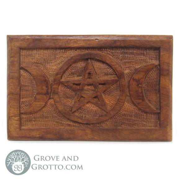 Triple Moon Tarot Box - Grove and Grotto