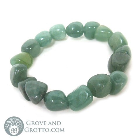 Tumbled Aventurine Bracelet - Grove and Grotto