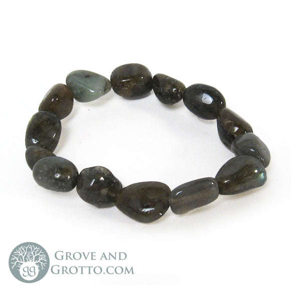 Tumbled Labradorite Bracelet - Grove and Grotto