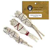White Sage Cuties (Package of 3)