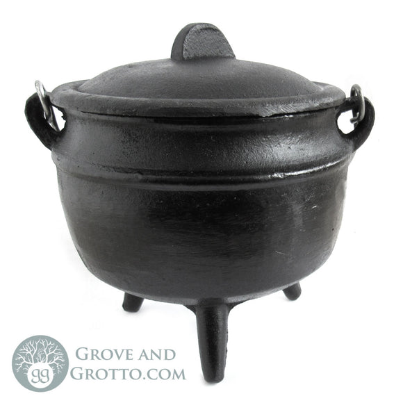 Tall Cauldron with Lid