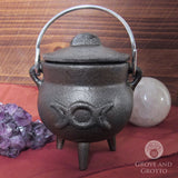Triple Moon Mini Cauldron 3.5""