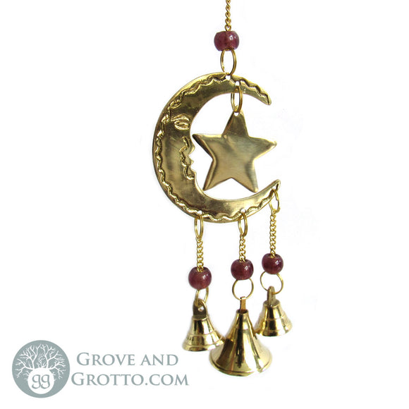 Sun and Moon Chime with Bells