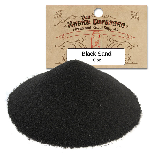 Sand for Incense Burners (8 oz) - Black