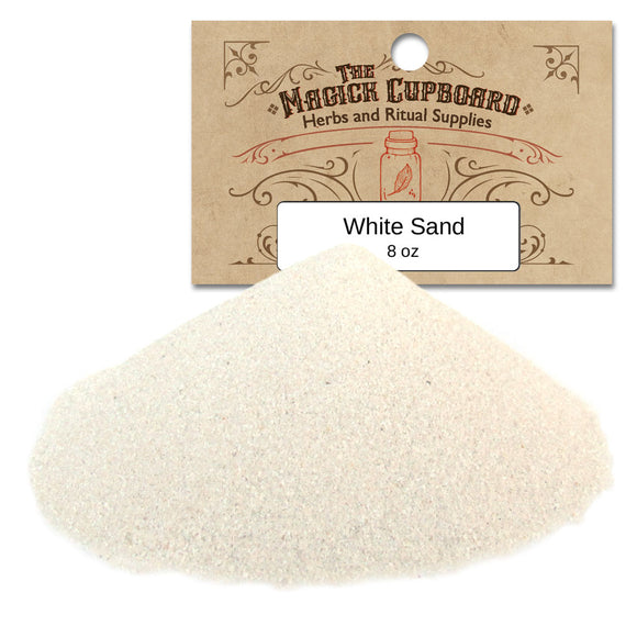 Sand for Incense Burners (8 oz) - White