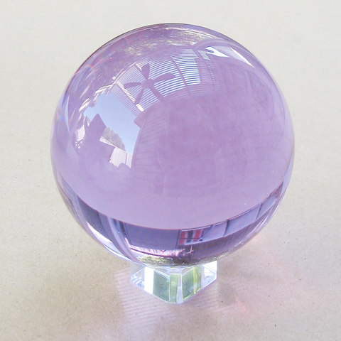Violet Crystal Ball (80 mm)