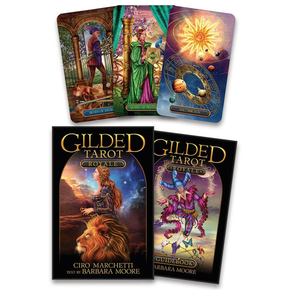 Gilded Tarot Royale (Boxed Set)