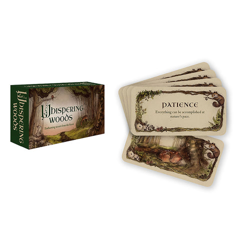 Whispering Woods Inspiration Cards - Grove and Grotto