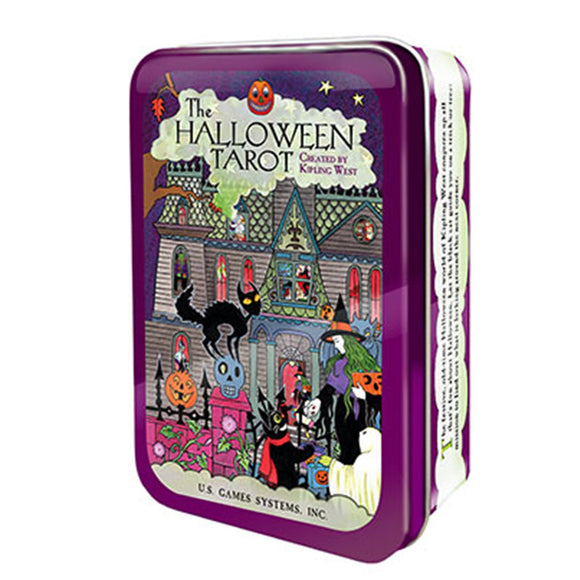 Halloween Tarot (Collectible Tin) - Grove and Grotto