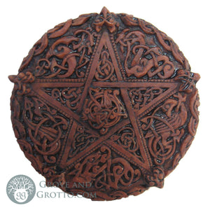 Dryad Design Celtic Knotwork Pentacle Plaque - Grove and Grotto