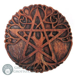 Dryad Design Tree Pentacle Plaque - Grove and Grotto