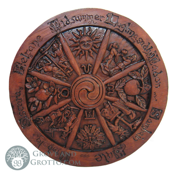 Dryad Design Wheel of the Year Plaque (Small)