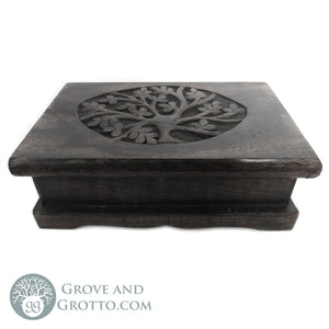 Ebony Tree of Life Chest - Grove and Grotto