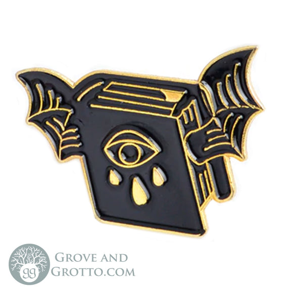 Book of Shadows Enamel Pin
