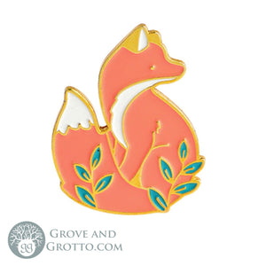 Fox Enamel Pin - Grove and Grotto