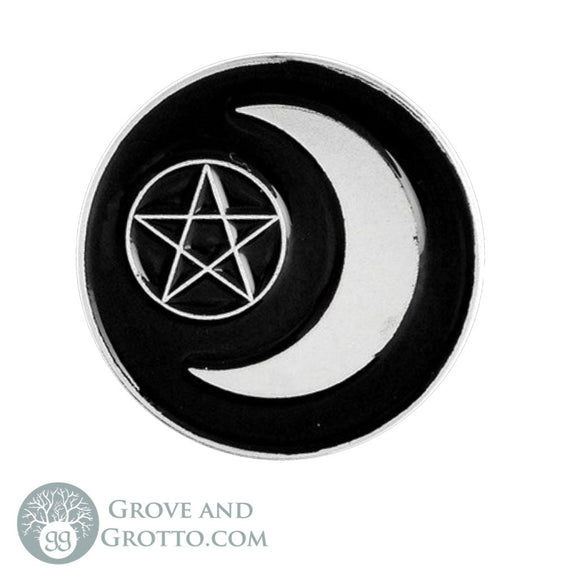 Moon Witch Enamel Pin - Grove and Grotto