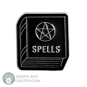 Spells Enamel Pin - Grove and Grotto
