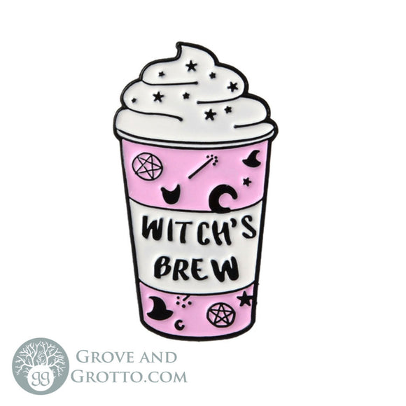 Witch's Brew Enamel Pin - Grove and Grotto