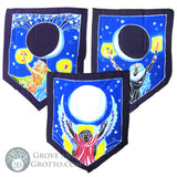 Triple Goddess Prayer Flags (Set of 3)