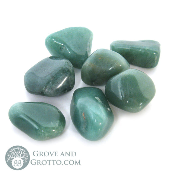 Green Aventurine Medium (1 Piece) - Grove and Grotto