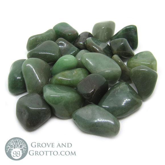 Tumbled Green Aventurine (1 lb) - Grove and Grotto