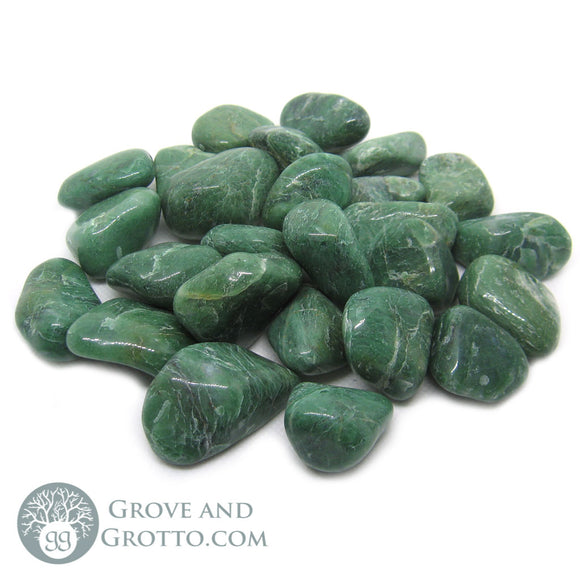 Tumbled Green Jade (1 lb)