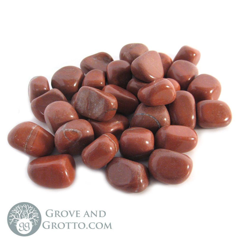 Red Jasper Tumbled Small (1/2 lb)