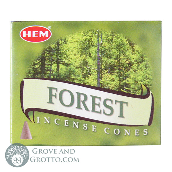 HEM Incense Cones - Forest - Grove and Grotto