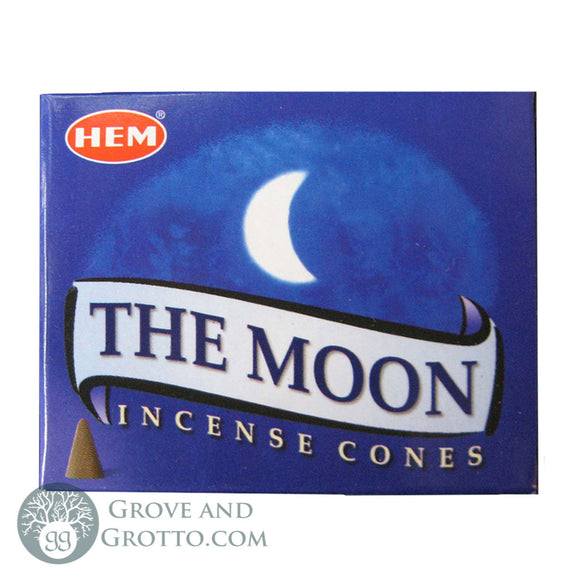 HEM Incense Cones - The Moon - Grove and Grotto