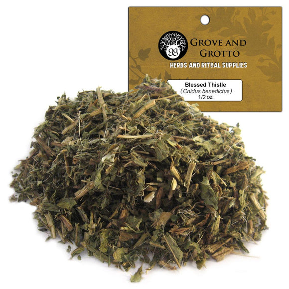 Blessed Thistle (1/2 oz) - Grove and Grotto
