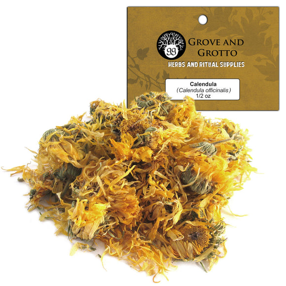 Calendula Flower (1/2 oz) - Grove and Grotto