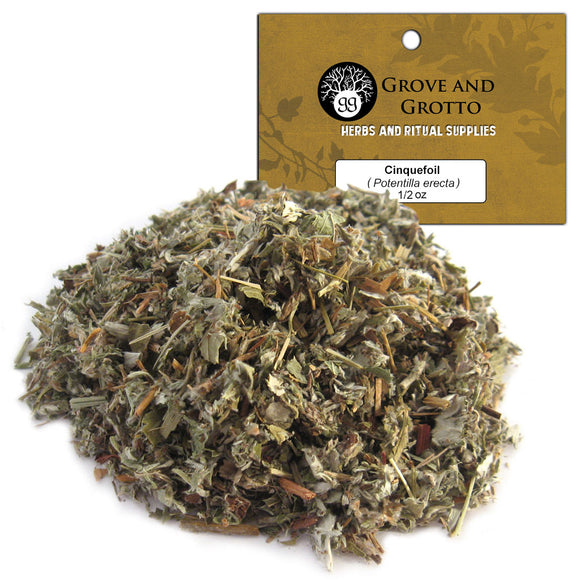 Cinquefoil (1/2 oz) - Grove and Grotto