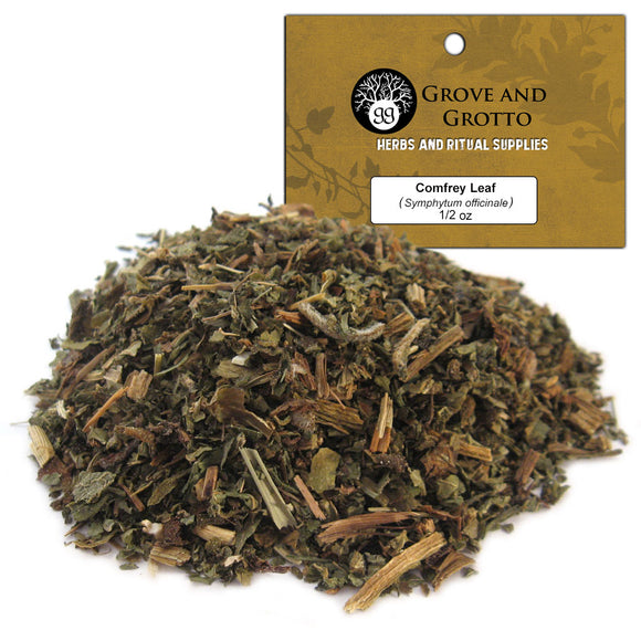 Comfrey Leaf (1/2 oz) - Grove and Grotto