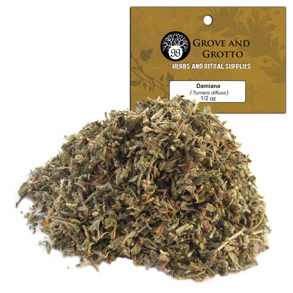 Damiana Leaf (1/2 oz) - Grove and Grotto
