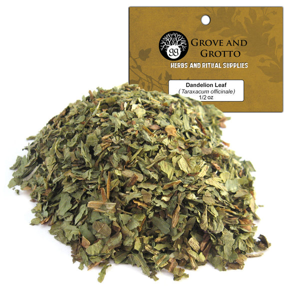 Dandelion Leaf (1/2 oz) - Grove and Grotto