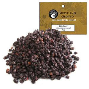 Elderberries (1 oz) - Grove and Grotto