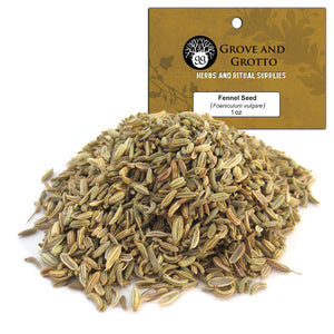 Fennel Seed (1 oz) - Grove and Grotto