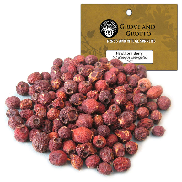 Hawthorn Berries (1 oz) - Grove and Grotto
