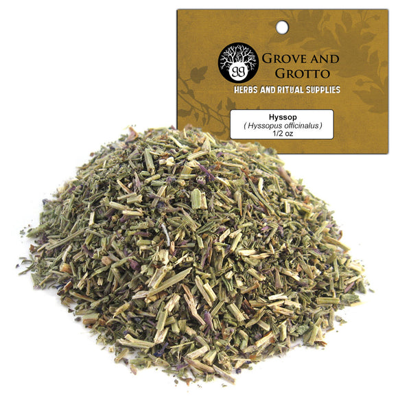 Hyssop (1/2 oz) - Grove and Grotto