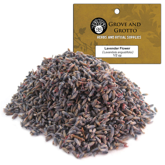 Lavender Flower (1/2 oz) - Grove and Grotto