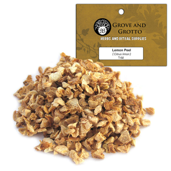 Lemon Peel (1 oz) - Grove and Grotto