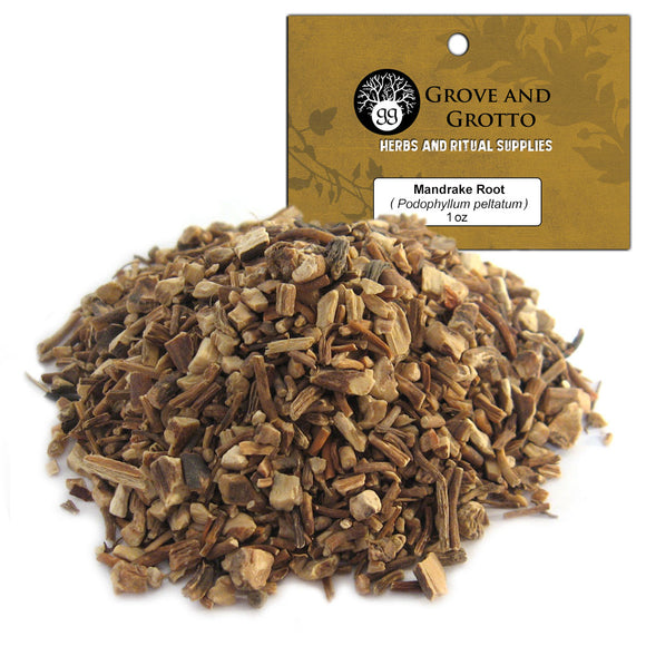 Mandrake Root Cut (1 oz) - Grove and Grotto