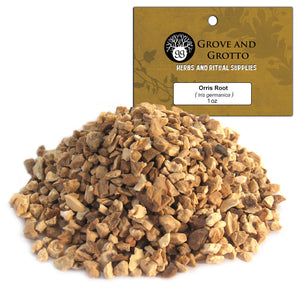 Orris Root (1 oz) - Grove and Grotto