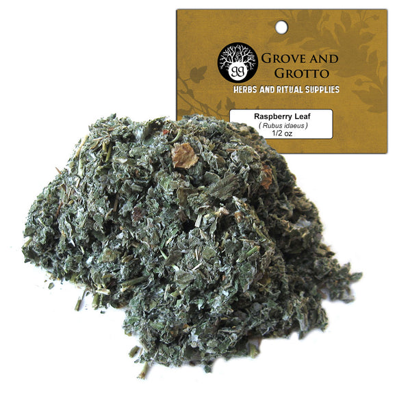 Raspberry Leaf (1/2 oz) - Grove and Grotto