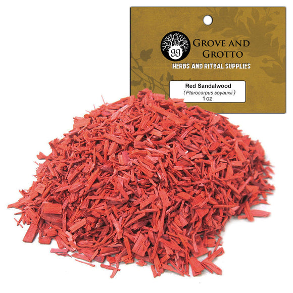 Red Sandalwood (1 oz) - Grove and Grotto